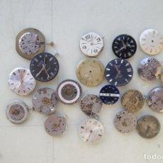 Relojes de pulsera: LOTE DE 20 CALIBRES MECANICOS HOMBRE C5. Lote 71818403