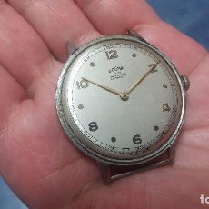Relojes de pulsera: BOTITO, ENORME Y ANTIQUISIMO RELOJ DOGMA DE CABALLERO, ANDA UN POQUITO SI SE MUEVE Y SE PARA..... Lote 73609547