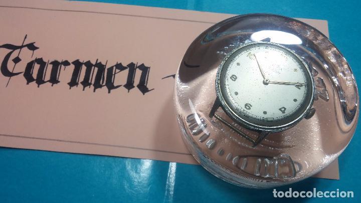 Relojes de pulsera: Botito, enorme y antiquisimo reloj DOGMA de caballero, anda un poquito si se mueve y se para.... - Foto 13 - 73609547