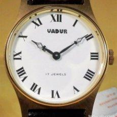 Relojes de pulsera: RELOJ VADUR 17 RUBIS (NOS = NEW OLD STOCK)-ENVIO GRATUITO PARA ESPAÑA (PENINSULA). Lote 74114247