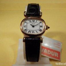 Relojes de pulsera: RELOJ VADUR DE SEÑORA INCABLOC (NOS = NEW OLD STOCK)-ENVIO GRATUITO PARA ESPAÑA (PENINSULA). Lote 74134495