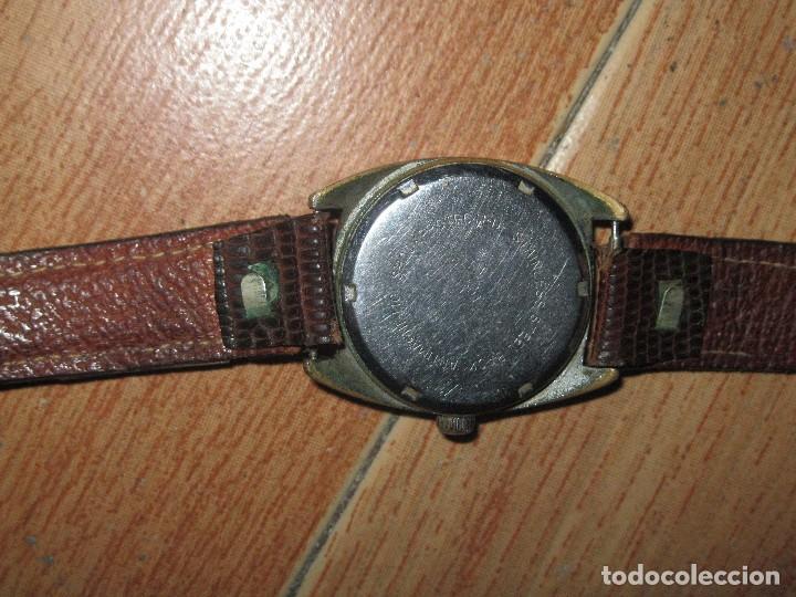 70d123ee5384 Relojes de pulsera  RARO Y ANTIGUO RELOJ CABALLERO MARCA ERMANO CORREA PIEL  SERPIENTE FUNCIONA DIFICIL