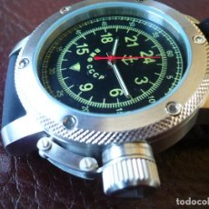 Relojes de pulsera: XXL SUBMARINER 24 HORAS VMF CCCP -ORIGINAL-. Lote 74858935