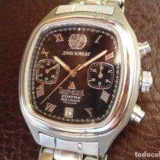 Relojes de pulsera: POLJOT -ÉLITE CHRONO -DIPLOMAT-EDICIÓN LIMITADA-999 PARA CUERPO DIPLOMÁTICO. NUEVO OLD STOCK -RAREZA. Lote 74860867