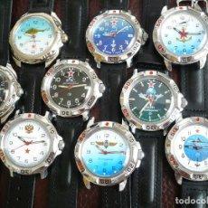 Relojes de pulsera: KOMANDIRSKIE EJERCITO CCCP -COMANDANTE- RELOJ MECÁNICO, NUEVO, SIN USAR. Lote 74720394