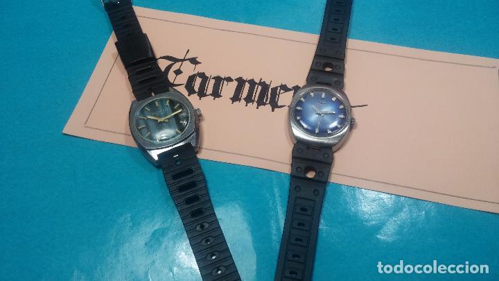 Relojes de pulsera: DOS BOTITOS RELOJ O RELOJES, 2 FANTÁSTICOS CLÁSICOS DE CUERDA DE LOS 70, uno adelanta y otro atrasa - Foto 4 - 75942227