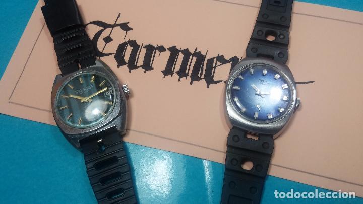 Relojes de pulsera: DOS BOTITOS RELOJ O RELOJES, 2 FANTÁSTICOS CLÁSICOS DE CUERDA DE LOS 70, uno adelanta y otro atrasa - Foto 5 - 75942227