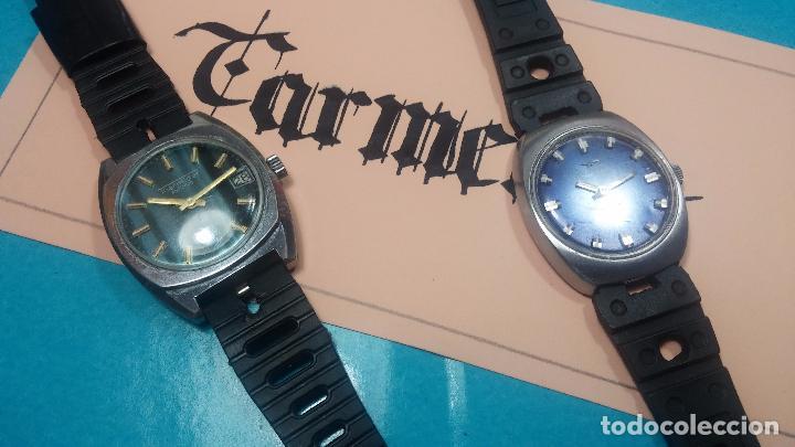 Relojes de pulsera: DOS BOTITOS RELOJ O RELOJES, 2 FANTÁSTICOS CLÁSICOS DE CUERDA DE LOS 70, uno adelanta y otro atrasa - Foto 6 - 75942227