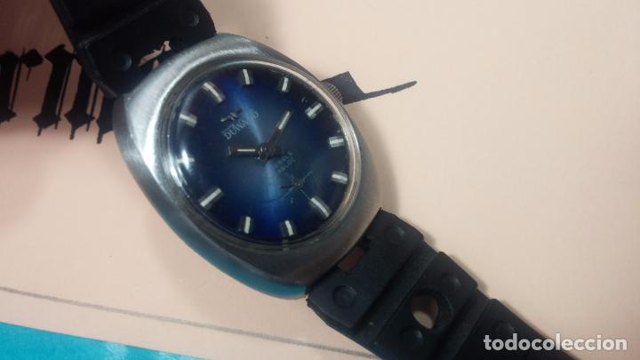 Relojes de pulsera: DOS BOTITOS RELOJ O RELOJES, 2 FANTÁSTICOS CLÁSICOS DE CUERDA DE LOS 70, uno adelanta y otro atrasa - Foto 9 - 75942227