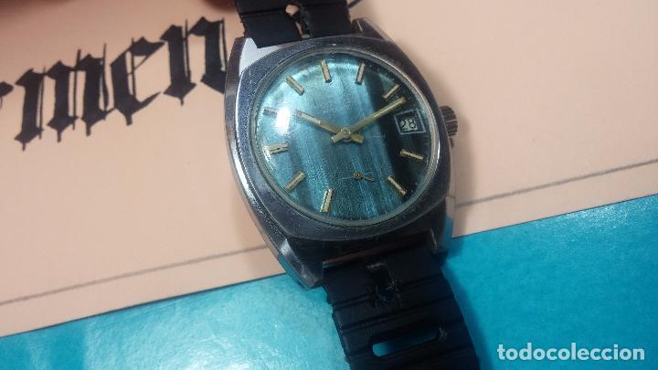 Relojes de pulsera: DOS BOTITOS RELOJ O RELOJES, 2 FANTÁSTICOS CLÁSICOS DE CUERDA DE LOS 70, uno adelanta y otro atrasa - Foto 18 - 75942227