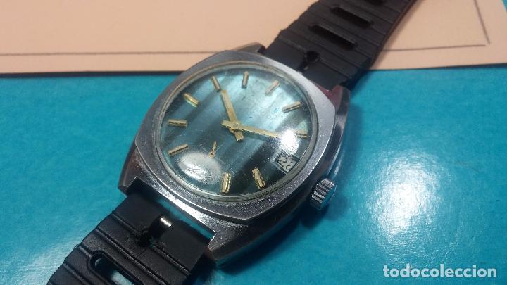 Relojes de pulsera: DOS BOTITOS RELOJ O RELOJES, 2 FANTÁSTICOS CLÁSICOS DE CUERDA DE LOS 70, uno adelanta y otro atrasa - Foto 21 - 75942227