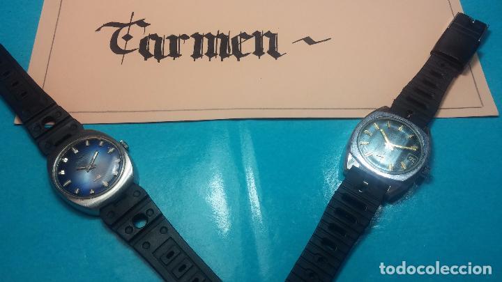 Relojes de pulsera: DOS BOTITOS RELOJ O RELOJES, 2 FANTÁSTICOS CLÁSICOS DE CUERDA DE LOS 70, uno adelanta y otro atrasa - Foto 23 - 75942227