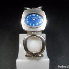 Relojes de pulsera: ROXAL - RELOJ DE SEÑORA PULSERA Y CAJA DE PLATA (NUEVO) AÑOS 65-70 SWISS MADE. Lote 75954511