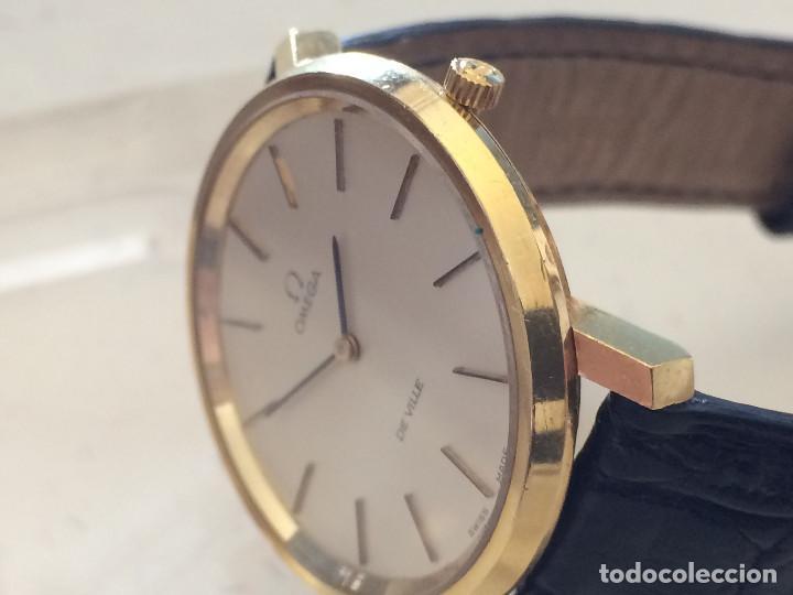 moda más deseable colores armoniosos límpido a la vista Omega DeVille Oro cuerda manual, Reloj de Señora Omega de Oro en perfecto  estado