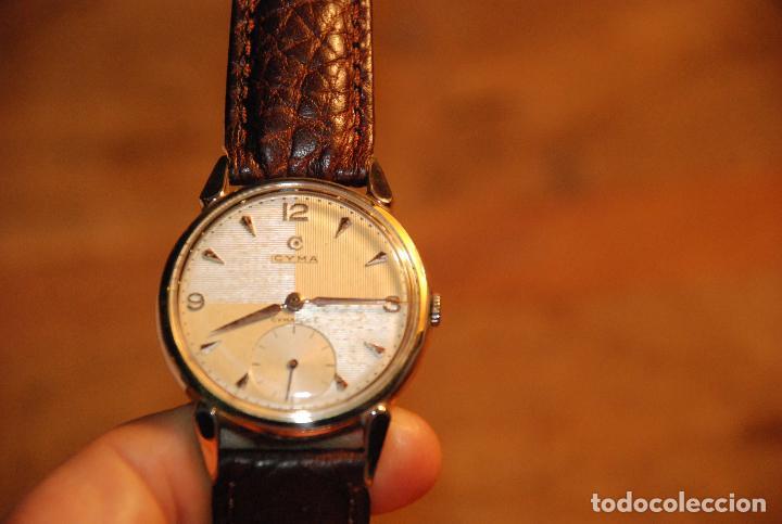 Relojes de pulsera: PRECIOSO RELOJ CYMA CARGA MANUAL - Foto 6 - 121967539