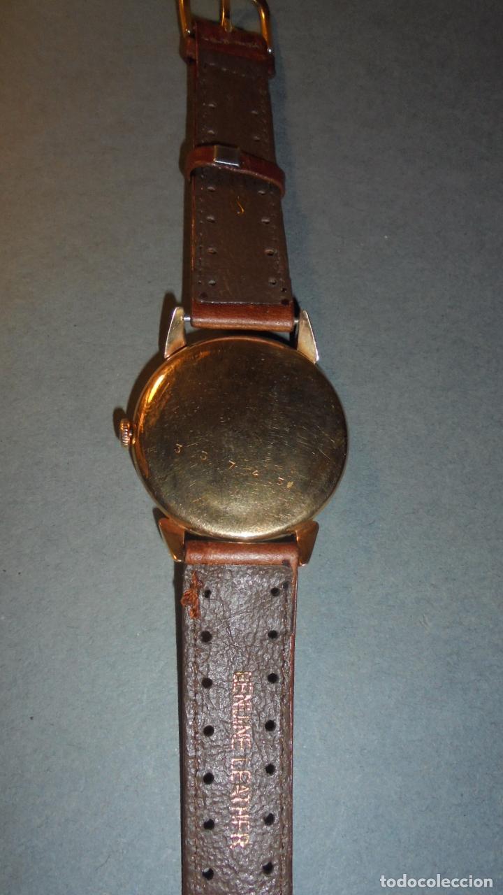 Relojes de pulsera: ANTIGUO RELOJ - CYMA - DE ORO 18 KL. SWISS MADE FUNCIONANDO PERFECTAMENTE SISTEMA DE CUERDA . - Foto 3 - 128856099