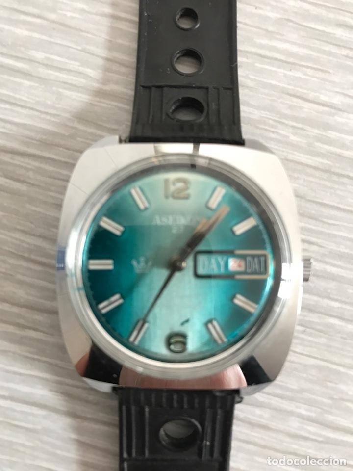 Relojes de pulsera: Reloj Aseikon. Funciona - Foto 2 - 77406415