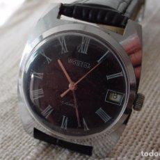 Relojes de pulsera: RELOJ MECÁNICO RUSO VOSTOK URSS NÚMEROS ROMANOS. Lote 245354975