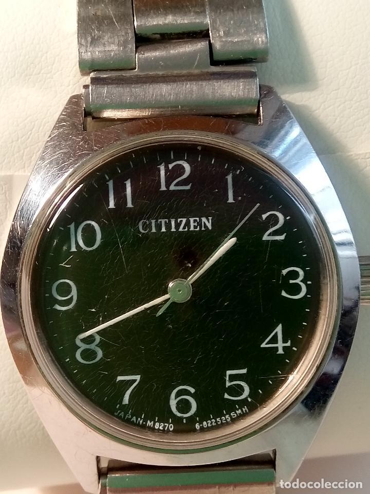Relojes de pulsera: ANTIGUO CITIZEN A CUERDA MANUAL. AÑOS 60. 35 MM. FUNCIONANDO BIEN. DESCRIPCION Y FOTOS,. - Foto 6 - 30055399