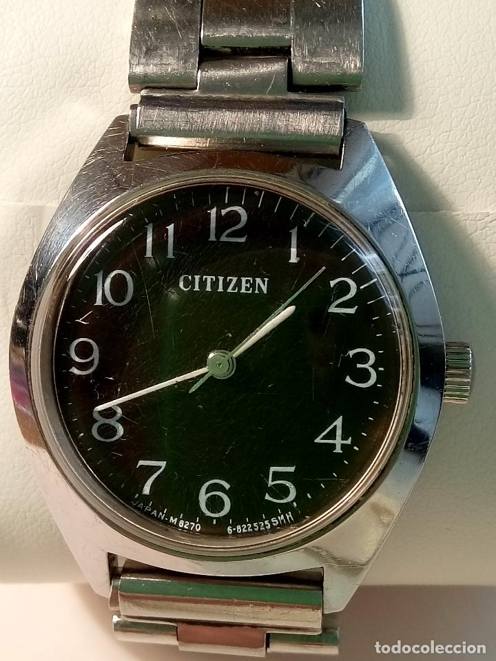 Relojes de pulsera: ANTIGUO CITIZEN A CUERDA MANUAL. AÑOS 60. 35 MM. FUNCIONANDO BIEN. DESCRIPCION Y FOTOS,. - Foto 4 - 30055399