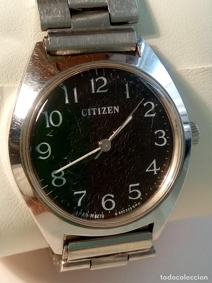 Relojes de pulsera: ANTIGUO CITIZEN A CUERDA MANUAL. AÑOS 60. 35 MM. FUNCIONANDO BIEN. DESCRIPCION Y FOTOS,. - Foto 5 - 30055399