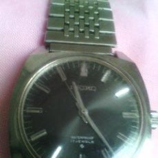 Relojes de pulsera: RELOJ SEIKO ORIGINARIO DE JAPON DE CUERDA, ACERO AÑOS 60 SE ADMITEN OFERTAS. Lote 78442669