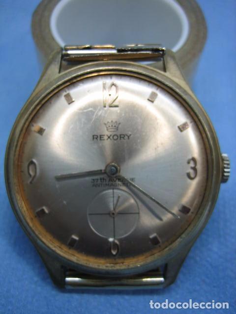 ANTIGUO RELOJ REXORY 651. NO FUNCIONA (Relojes - Pulsera Carga Manual)
