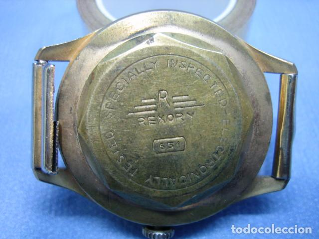 Relojes de pulsera: Antiguo Reloj Rexory 651. No funciona - Foto 5 - 79037693