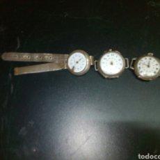 Relojes de pulsera: RELOJ DE PULSERA DE SEÑORA DE PLATA PARA RESTAURAR . Lote 79639077