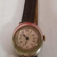 Relojes de pulsera: RELOJ DE PULSERA SEÑORA, OVALADO, FUNCIONANDO. Lote 79742285
