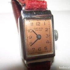 Relojes de pulsera: RELOJ A CUERDA...DE SEÑORA AÑOS. 40....MARCA GESA . SWISS. Lote 80172429