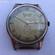 Relojes de pulsera: ANTIGUO RELOJ CAUNY PRIMA GRAN TAMAÑO FUNCIONA BIEN,BARATO. Lote 80374387