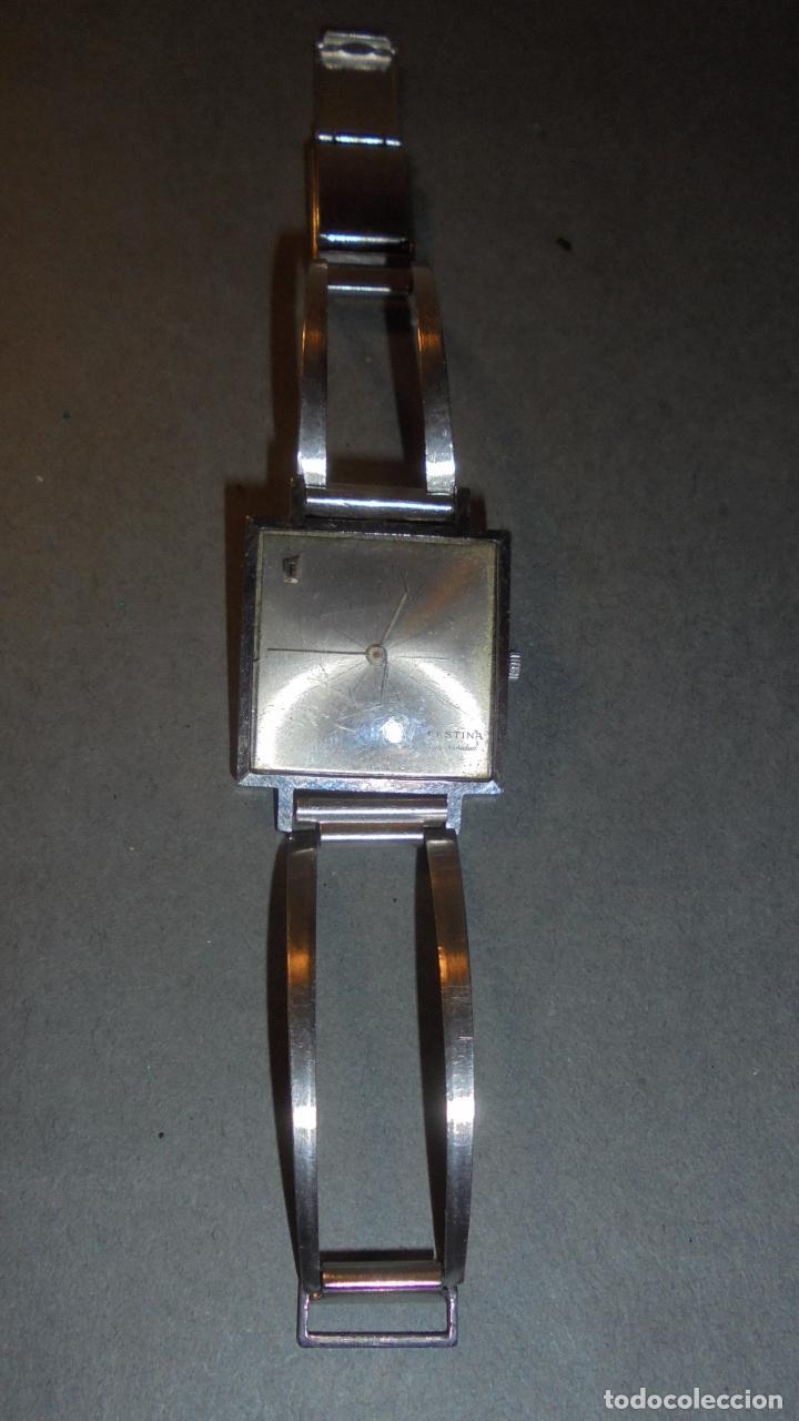 764f75c99bb8 Relojes de pulsera  ANTIGUO RELOJ - FESTINA SUPERIORIDAD CUADRADO SUPERFINO  CAJA Y PULSERA DE ACERO
