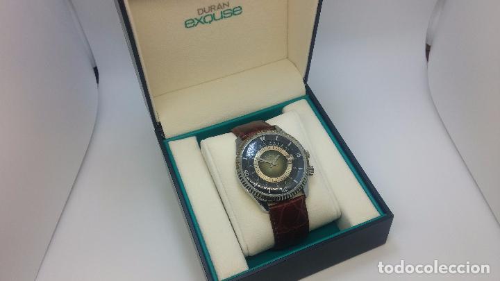 BOTITO RELOJ DE CUERDA DE CABALLERO VINTAGE, MUY GRANDE 4,50 APROX C/C Y ANTIGUO, FUNCIONANDO (Relojes - Pulsera Carga Manual)