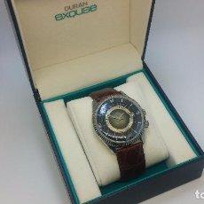 Relojes de pulsera: BOTITO RELOJ DE CUERDA DE CABALLERO VINTAGE, MUY GRANDE 4,50 APROX C/C Y ANTIGUO, FUNCIONANDO. Lote 81250792