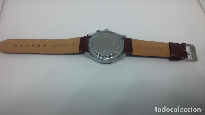 Relojes de pulsera: Botito reloj de cuerda de caballero vintage, muy grande 4,50 aprox c/c y antiguo, funcionando - Foto 11 - 81250792