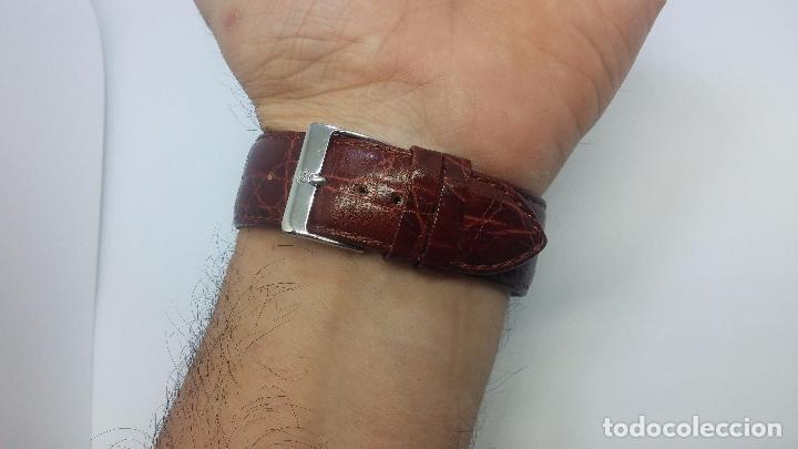 Relojes de pulsera: Botito reloj de cuerda de caballero vintage, muy grande 4,50 aprox c/c y antiguo, funcionando - Foto 17 - 81250792