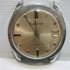 Relojes de pulsera: RELOJ CARGA MANUAL LUCERNE. NO FUNCIONA. Lote 82375912
