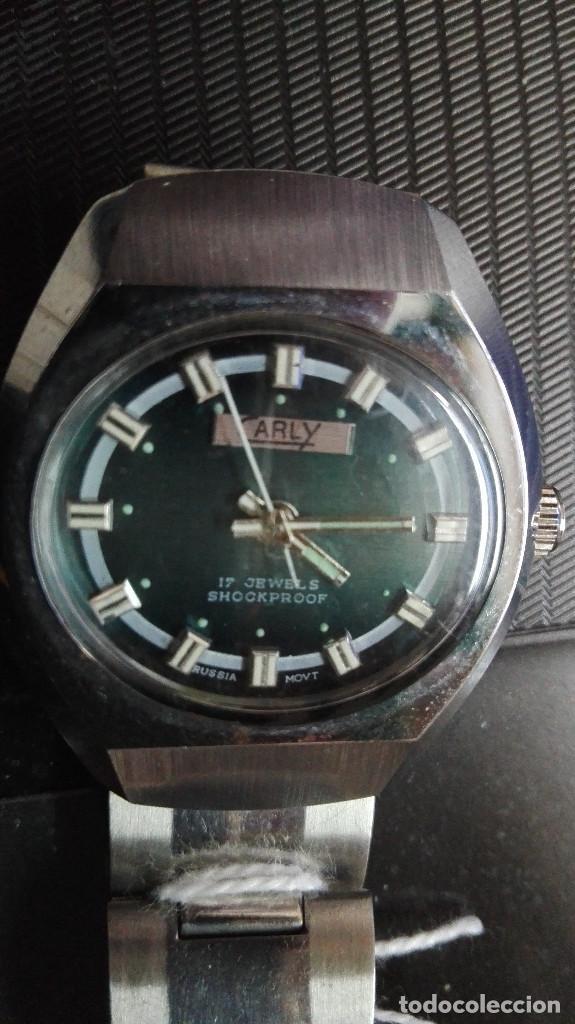 CARLY. PERFECTO ESTADO FUNCIONANDO SHOOCKPROOF RUSSIA MOVT.17 RUBIS (Relojes - Pulsera Carga Manual)