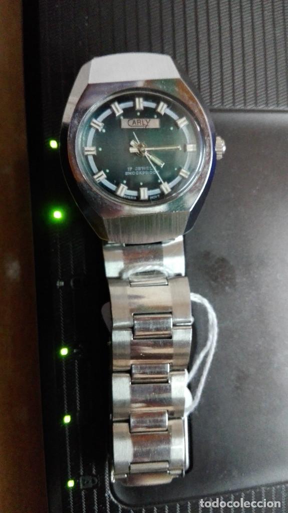 Relojes de pulsera: CARLY. PERFECTO ESTADO FUNCIONANDO SHOOCKPROOF RUSSIA MOVT.17 RUBIS - Foto 3 - 82660224