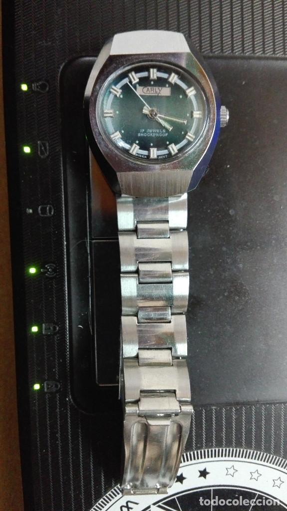 Relojes de pulsera: CARLY. PERFECTO ESTADO FUNCIONANDO SHOOCKPROOF RUSSIA MOVT.17 RUBIS - Foto 5 - 82660224