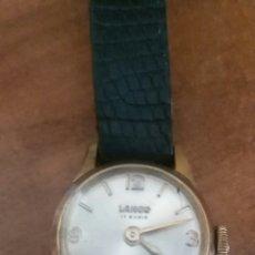 Relojes de pulsera: RELOJ DE SEÑORA LANCO 17 RUBIS.FUNCIONA. Lote 82756374