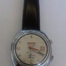 Relojes de pulsera: RELOJ CAUNY ALARMA. Lote 82758404