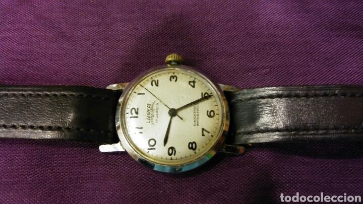 RELOJ LAUREAT 1970 - FUNCIONA ! (Relojes - Pulsera Carga Manual)