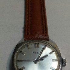 Relojes de pulsera: RELOJ ANTIGUO DE CUERDA RAKETA RUSO AÑOS 60 FUNCIONANDO. Lote 83328562