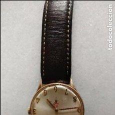 Relojes de pulsera: ANTIGUO RELOJ ORO MUÑECA CABALLERO MARCA DOGMA. Lote 83402036