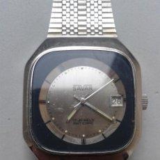 Relojes de pulsera: RELOJ DE PULSERA CARGA MANUAL. MARCA SAVAR. MOD. INCABLOC. FUNCIONANDO.. Lote 83564080