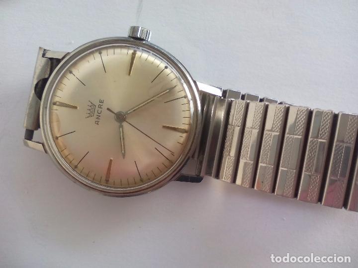 Relojes de pulsera: Reloj de pulsera a cuerda, marca Ancre. Made in Suiza 17 Jewels - Foto 3 - 83567256
