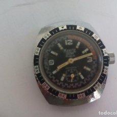 Relojes de pulsera: RELOJ DE PULSERA A CUERDA, MORITZ ANCRE. INCABLOC. ANTICHOC. Lote 83568440