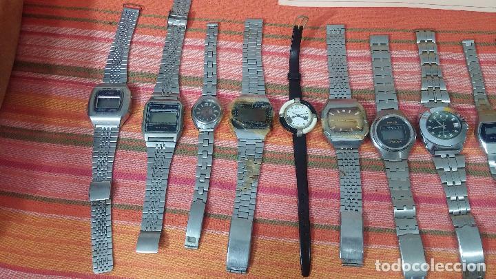 Relojes de pulsera: BOTITO LOTE DE 15 RELOJES VARIADOS, PARA REPARAR O PARA PIEZAS, ALGUNO FUNCIONA - Foto 3 - 83575164